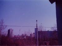 Москва - Кузьминки и Текстильщики. Вид с Волгоградского проспекта