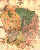 Москва - План Москвы 1927 года