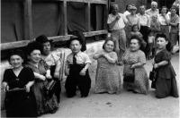 Румыния - Семеро евреев-лилипутов из семьи Овиц.