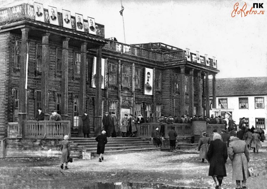 Старое фото универмаг город владимир