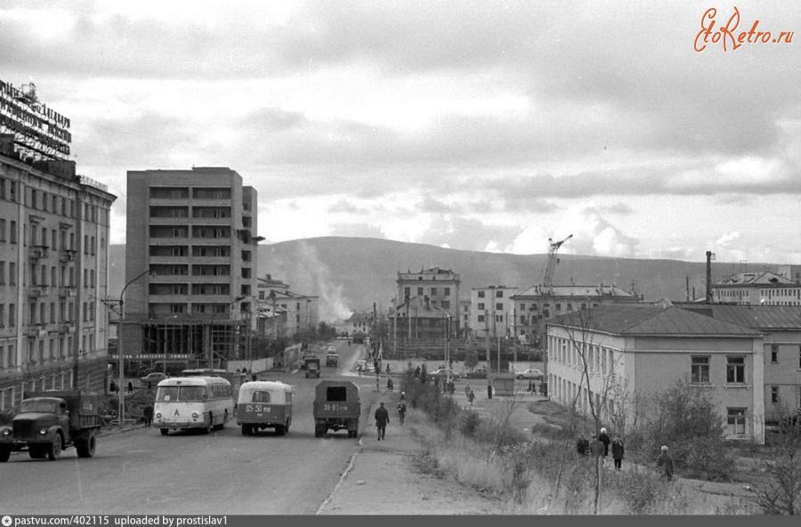фото старого мурманска улица дружбы днях