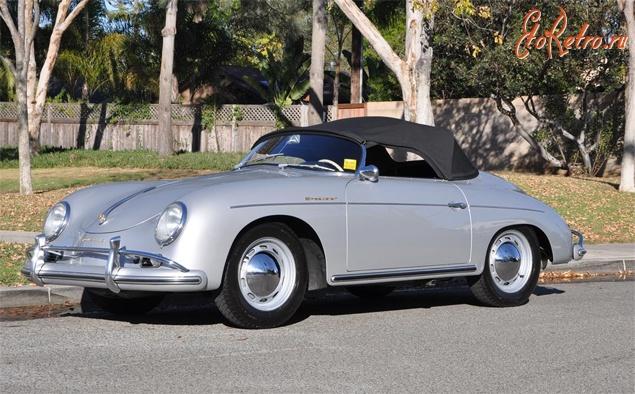 porsche 356a speedster 1958 года