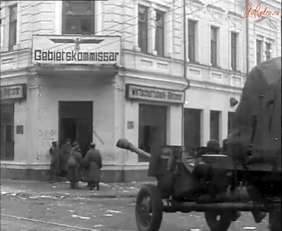 Житомир - Угол улиц Горсовета (Михайловской) и Карла Маркса (Б.Бердичевская).