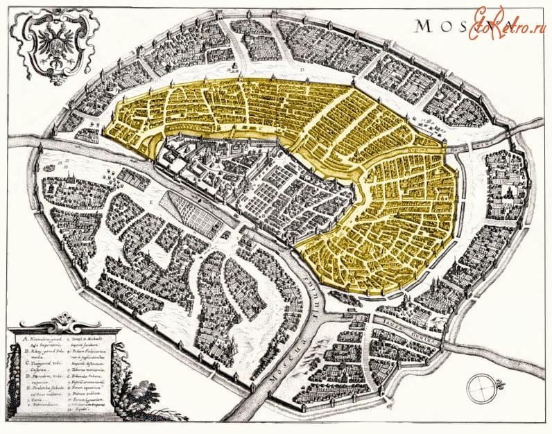 модели древние здания москвы на карте для повседневной