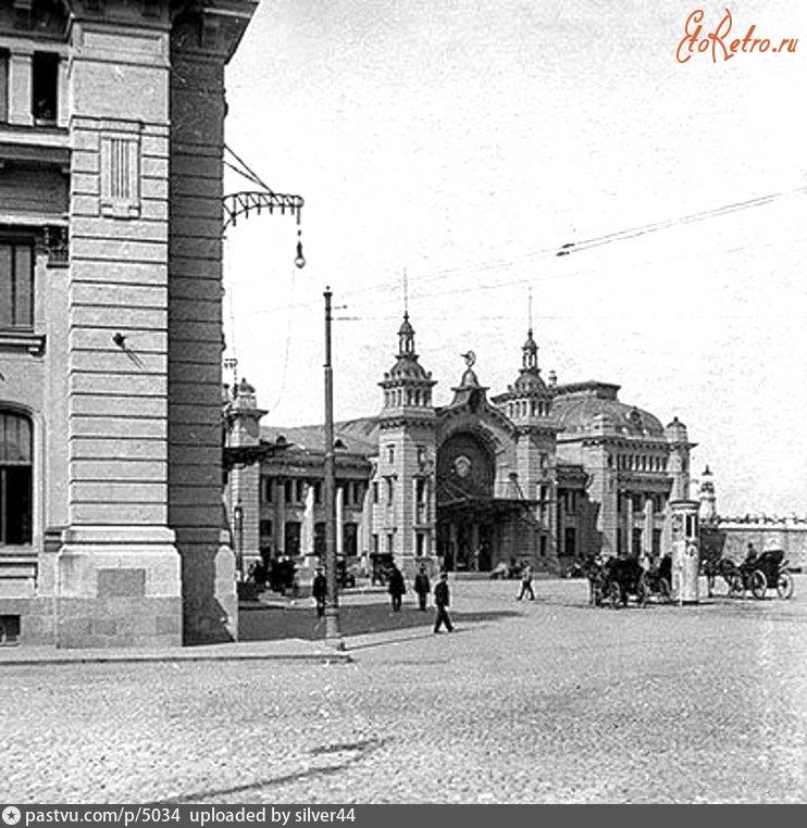 Александровский вокзал в Москве; фото № 1382979