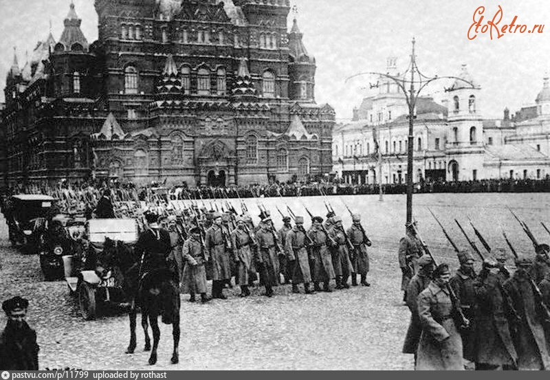 a history of the modernization of russia starting in 1917 with the bolshevik revolution