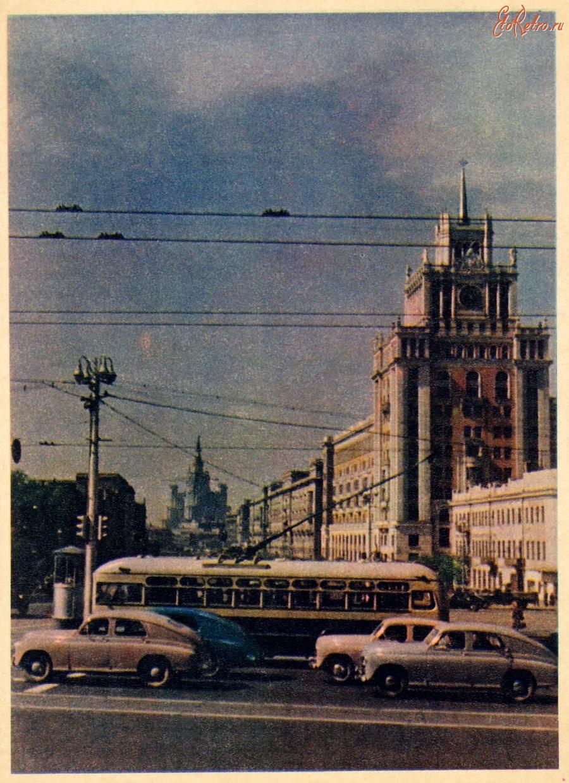 Открытки 1950 москва
