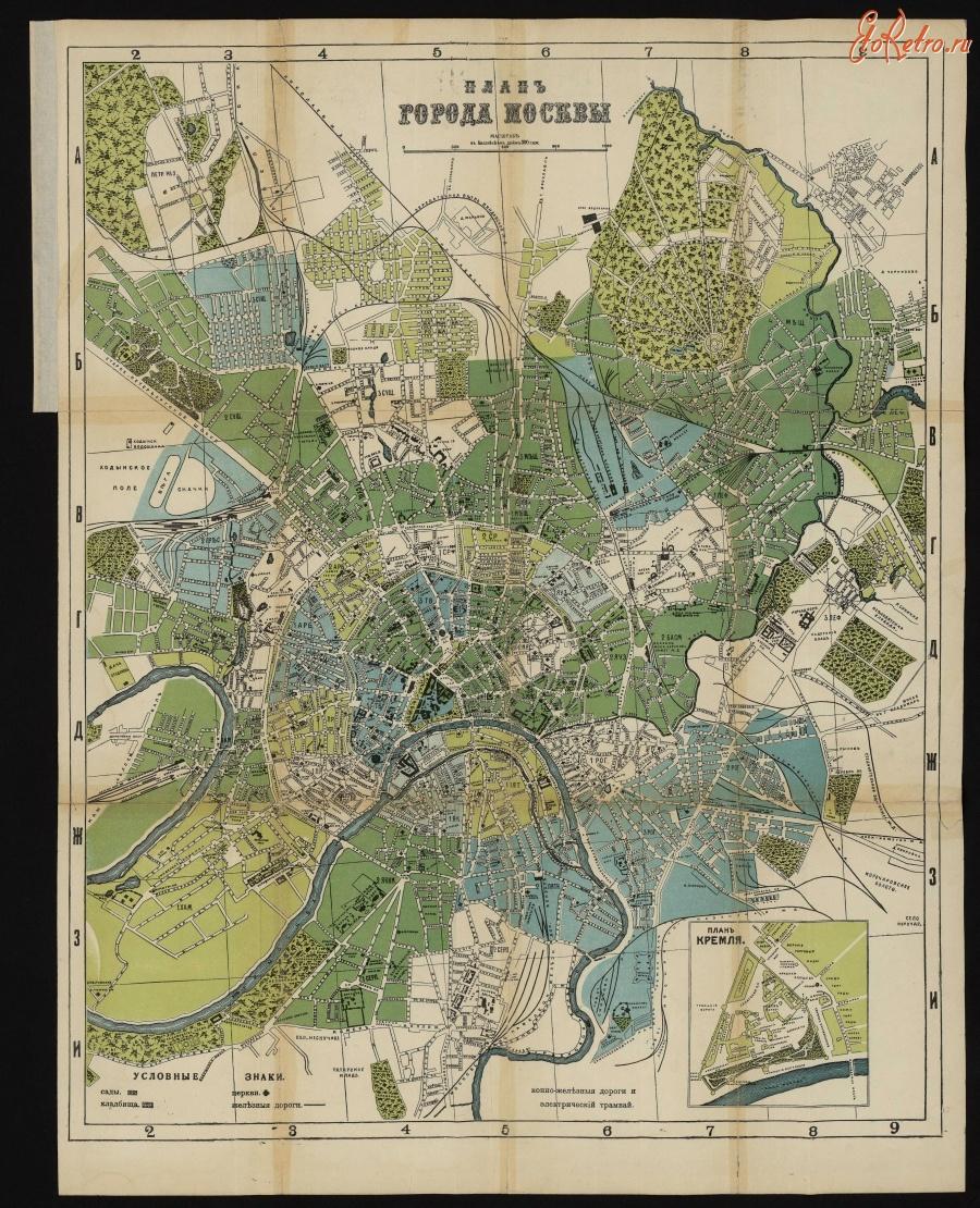 картинка план москвы помощью циркуля