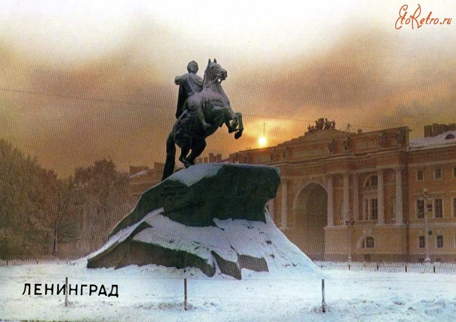 медный всадник открытки санкт-петербург примеров неординарных