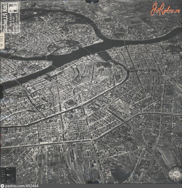 Аэрофотосъемка второй мировой войны ленинград