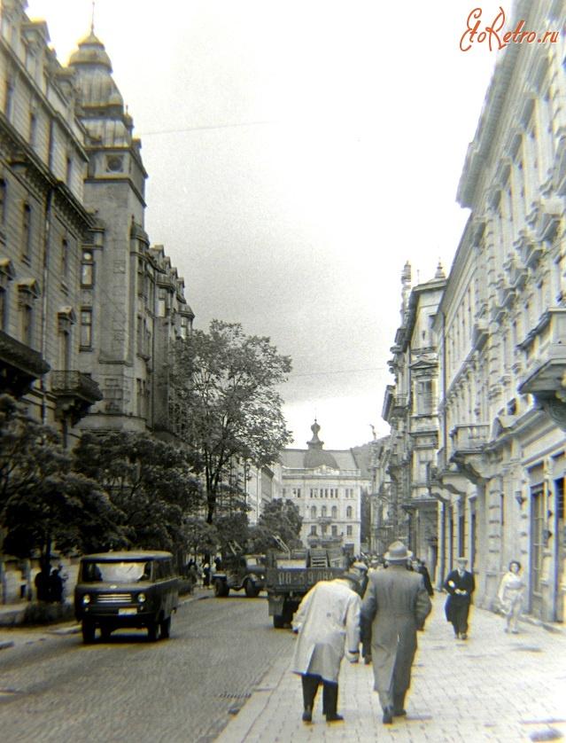 Львовская улица (сегодня - улица сечевых стрельцов)