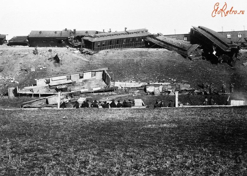 Змиёв - Катастрофа императорского поезда 17 октября 1888 года. Борки. Украина,  Харьковская область