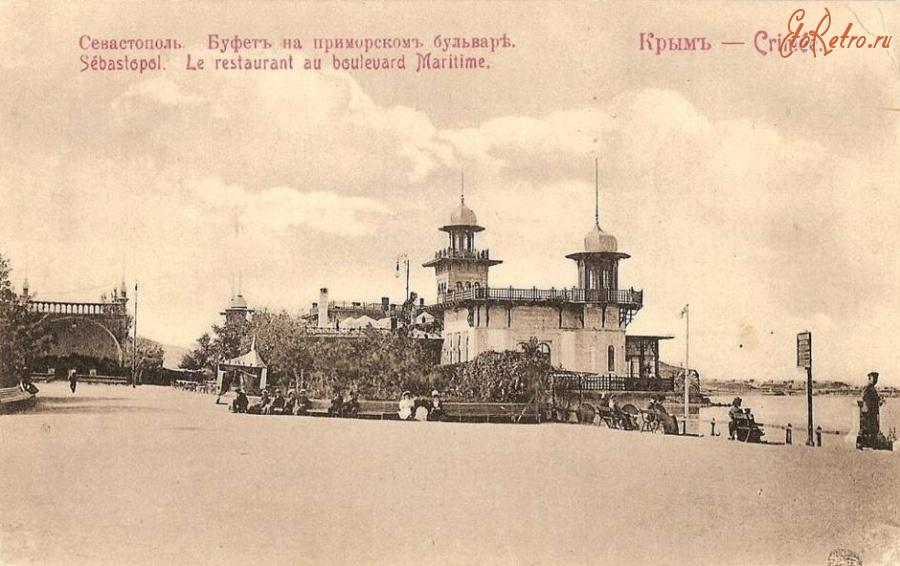 Севастополь на старых открытках