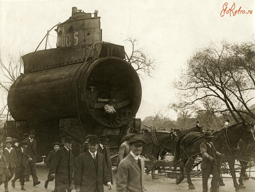 немецкие лодки в нью йорке