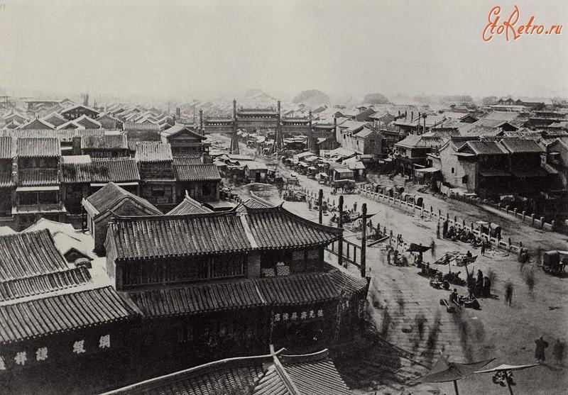 Пекин - Панорама города.