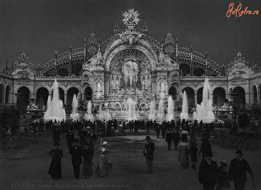 Париж 1900 открытие в париже всемирной