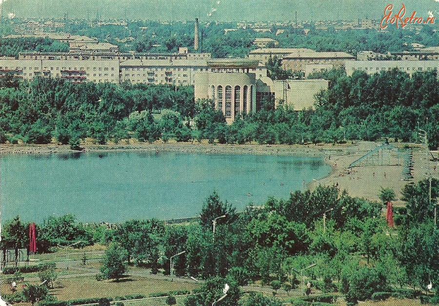 Караганда центральный парк культуры и