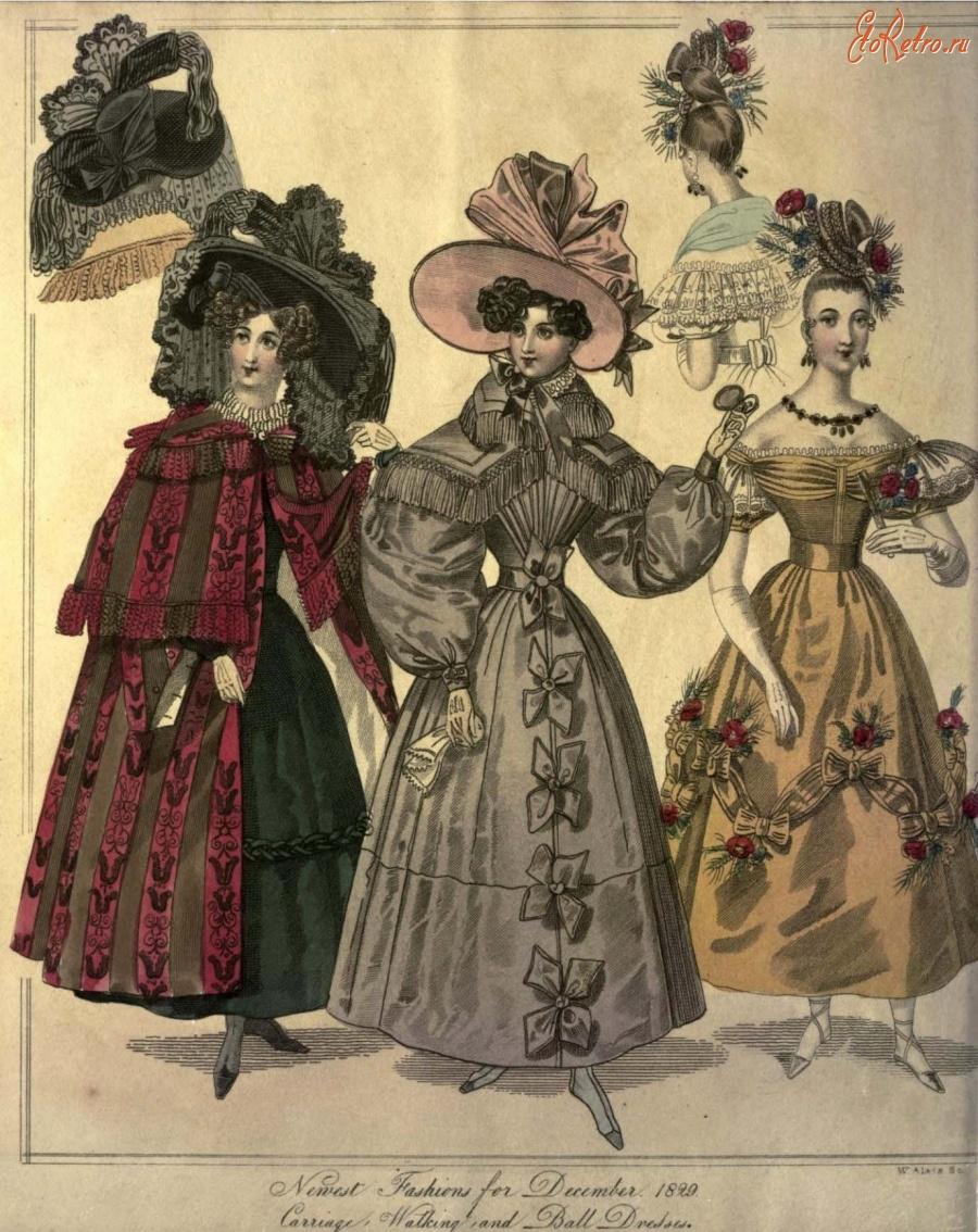 19 век мода англии фото