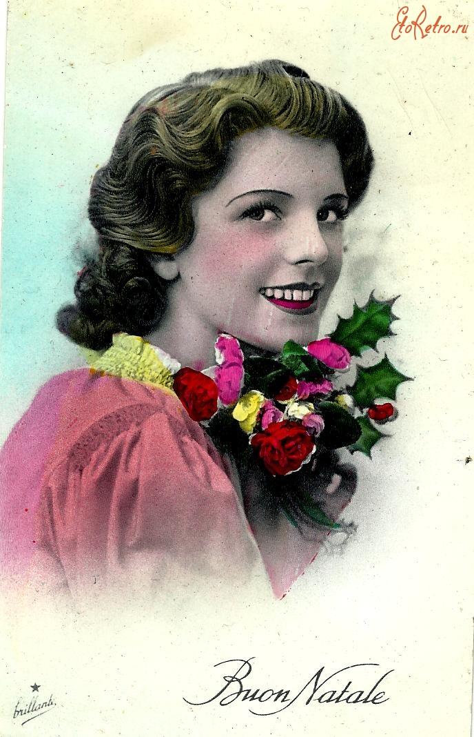 Из фото ретро открытка