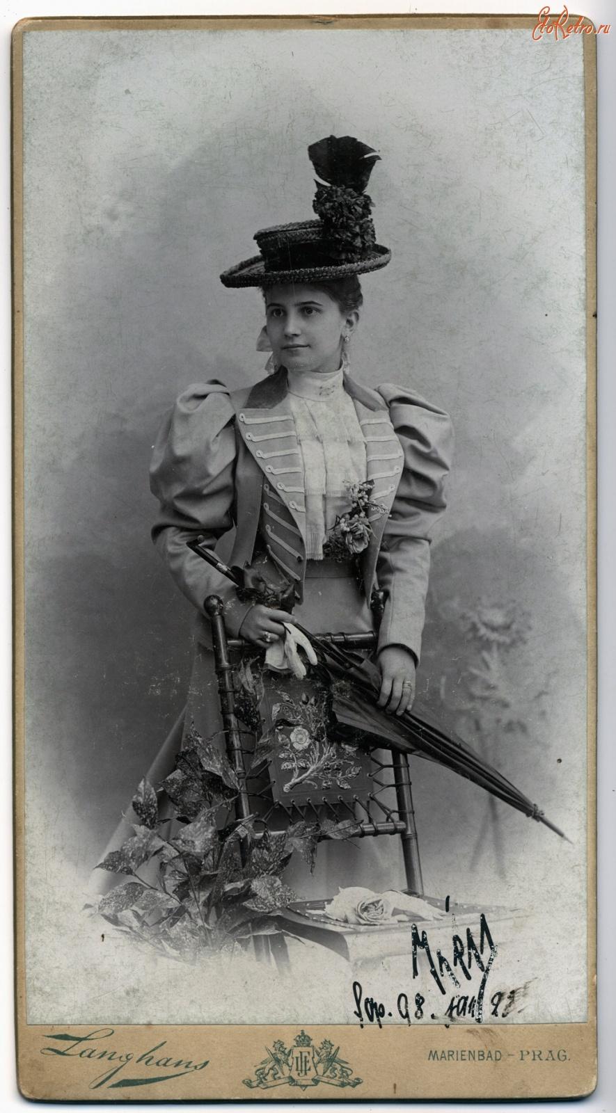 19 век фото открытки
