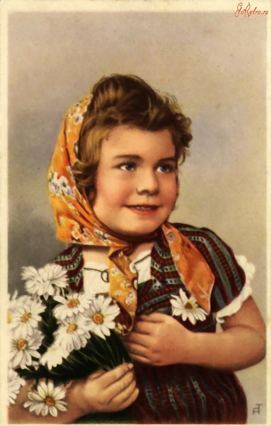 Фото открытки немецкие женщин