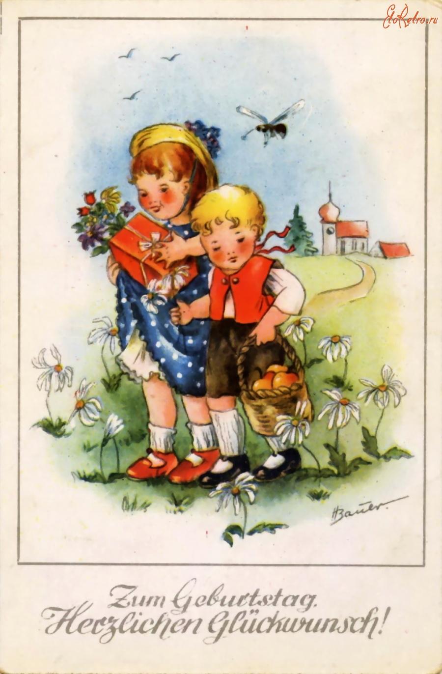 Барби, с юбилеем ретро открытки
