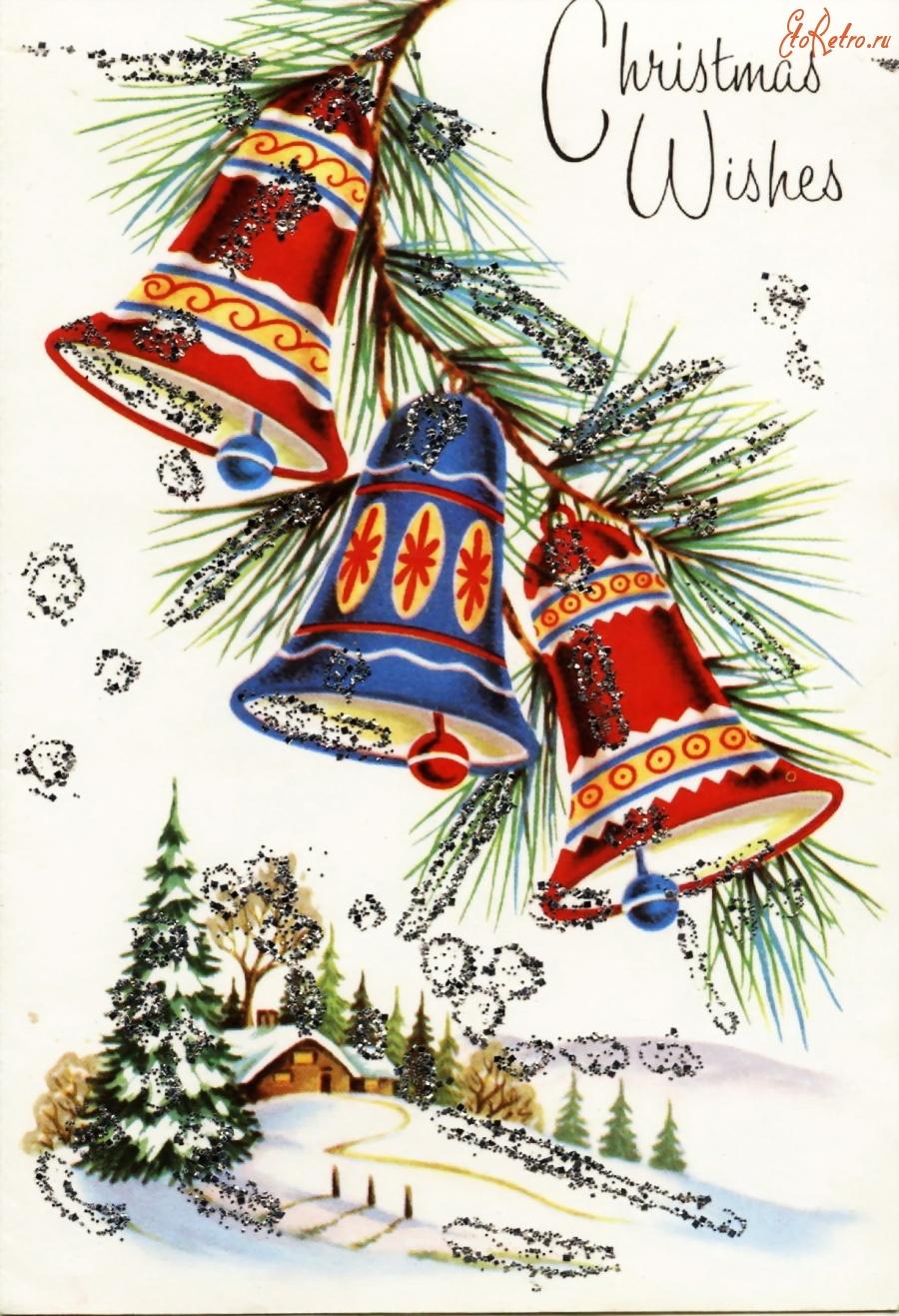 Рождественские открытки на английском языке для детей, картинки про профессии