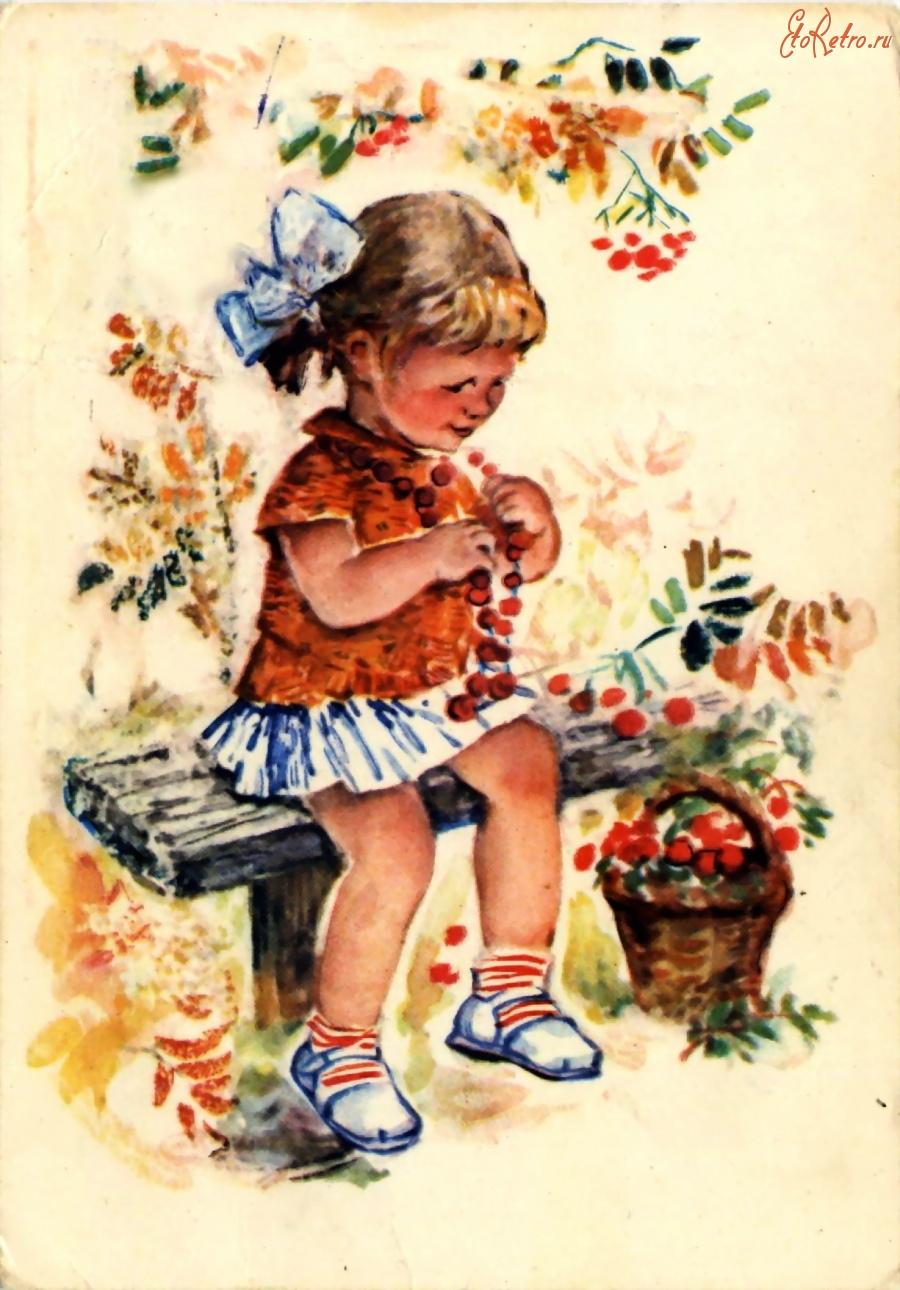 Открытка, как рисовали старые открытки