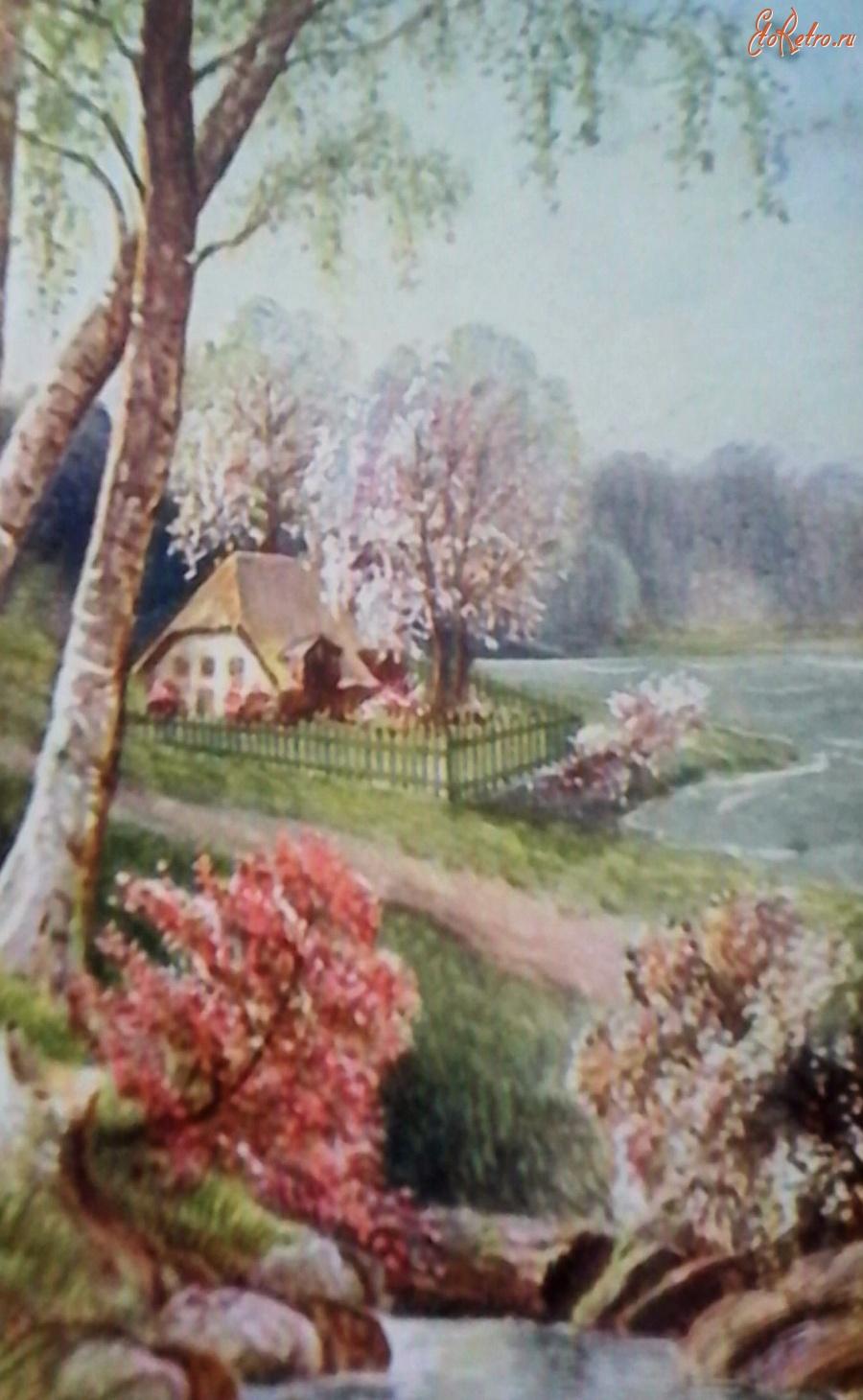 Пейзаж старинные открытки