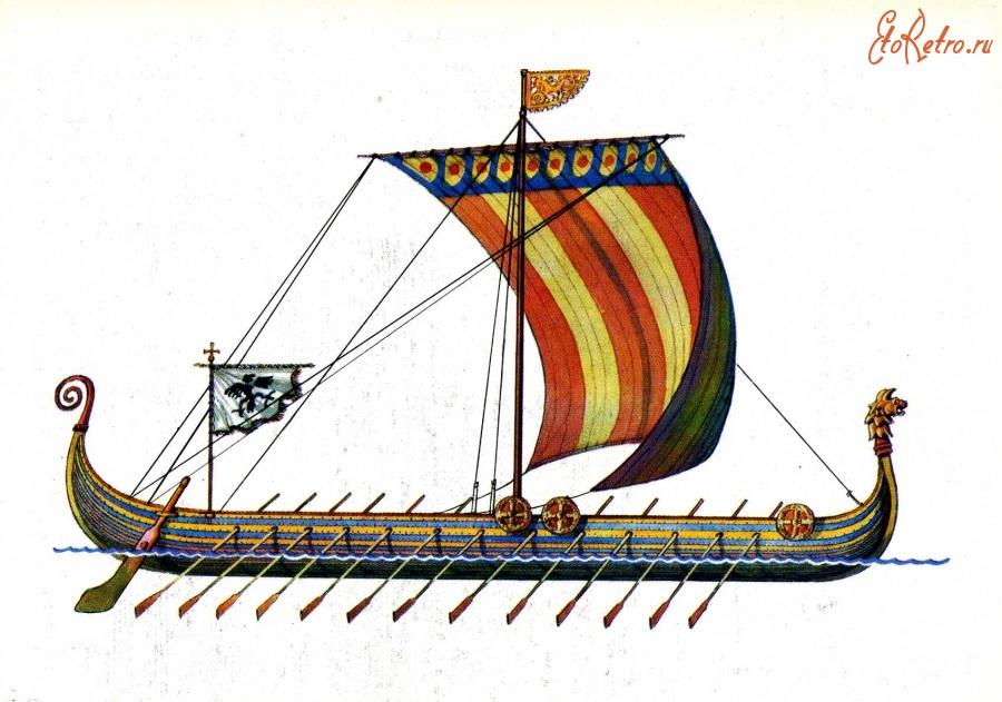 скорость лодок викингов