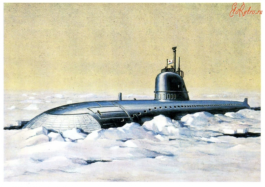 Подводные лодки на открытках, надписями сталкер майя