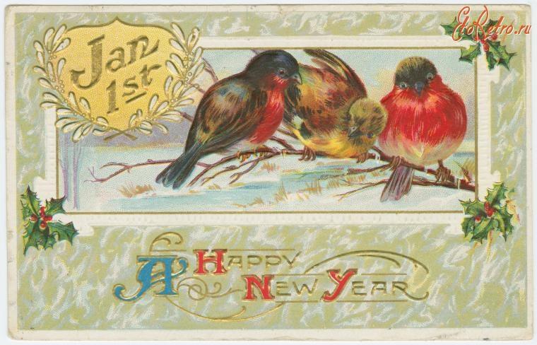 Старинные открытки с марками