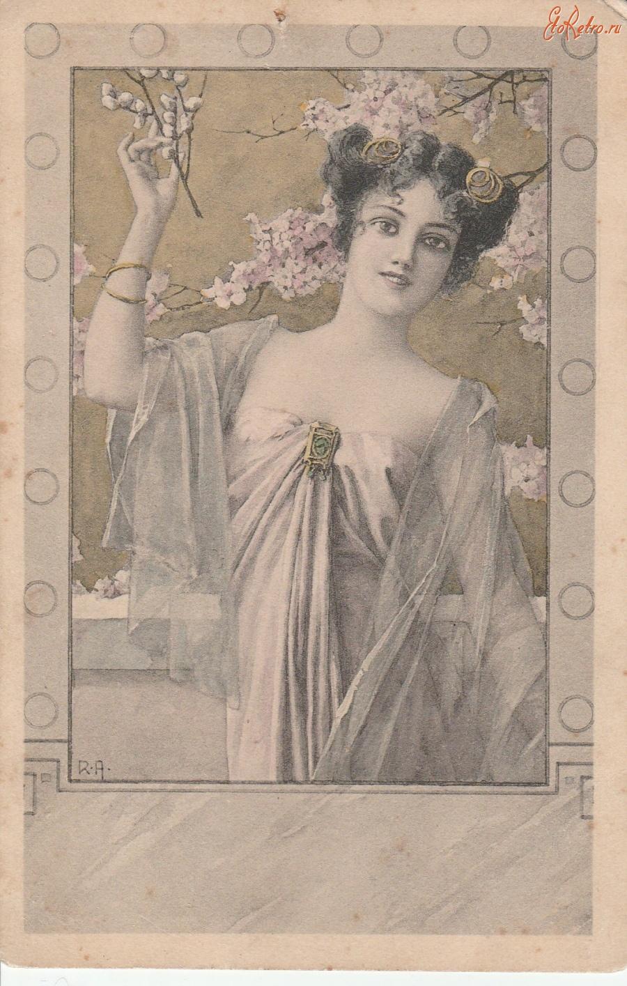 Почтовые открытки 1910 года