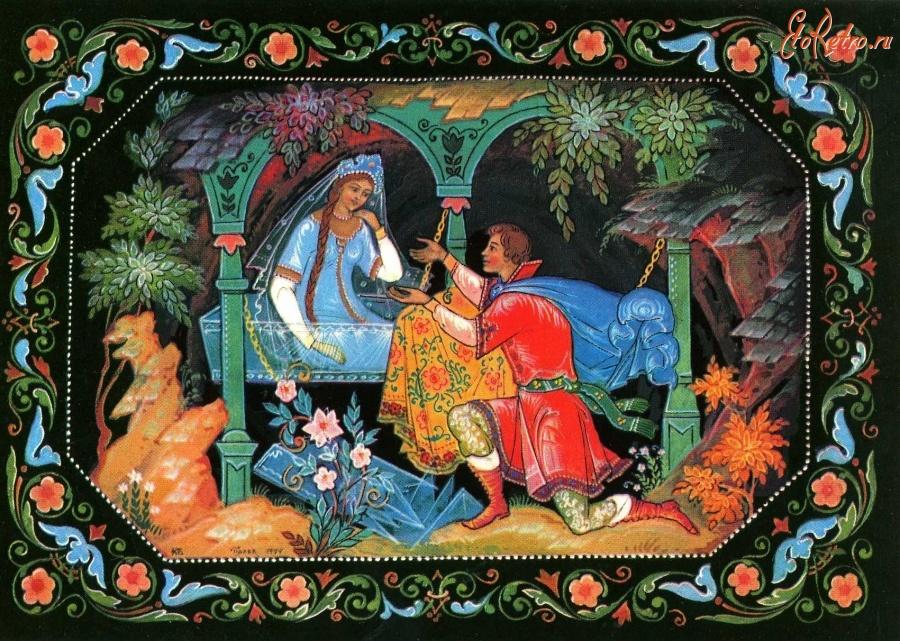 Бокарев художник открыток