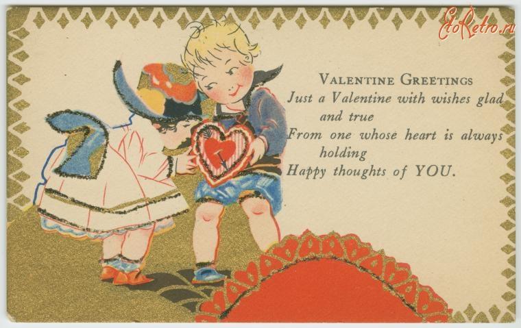 Поздравление днем святого валентина английском