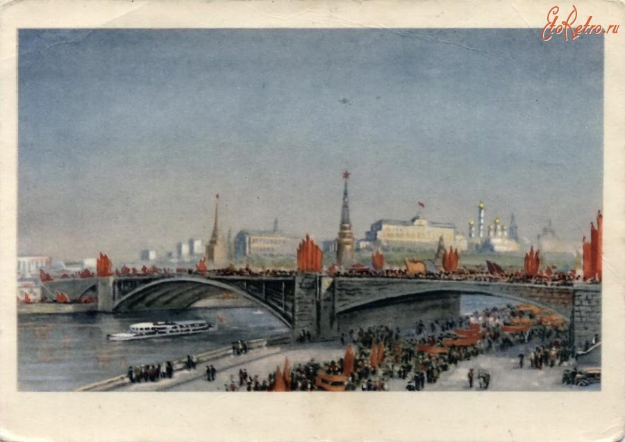 Москва в открытках и фотографиях, своими руками новый