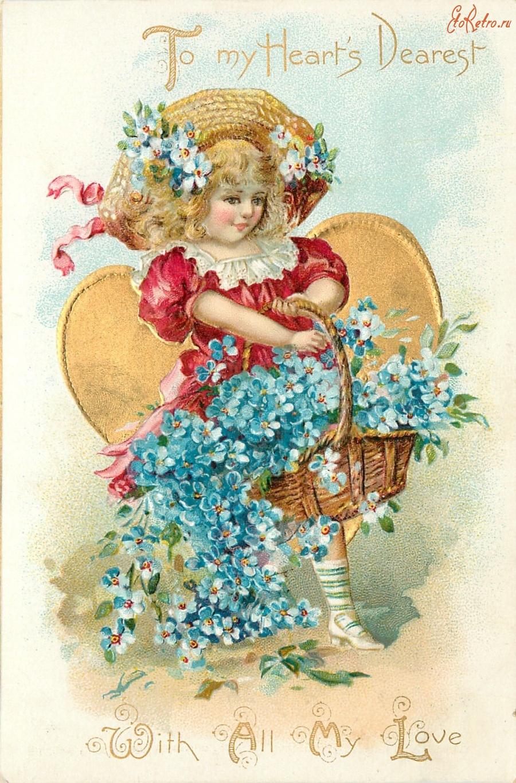 Марта английском, день рождения детей открытки старинные