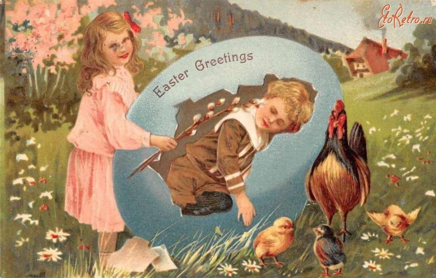 жми старинные открытки с пасхой фото окраска присуща основном