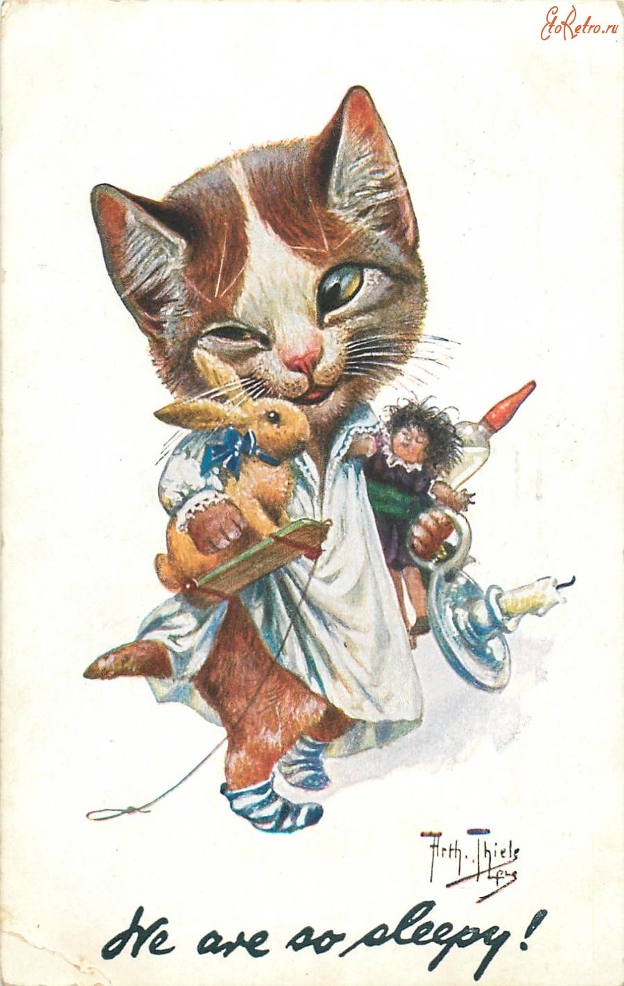 Открытки кроликом-котом, открытки