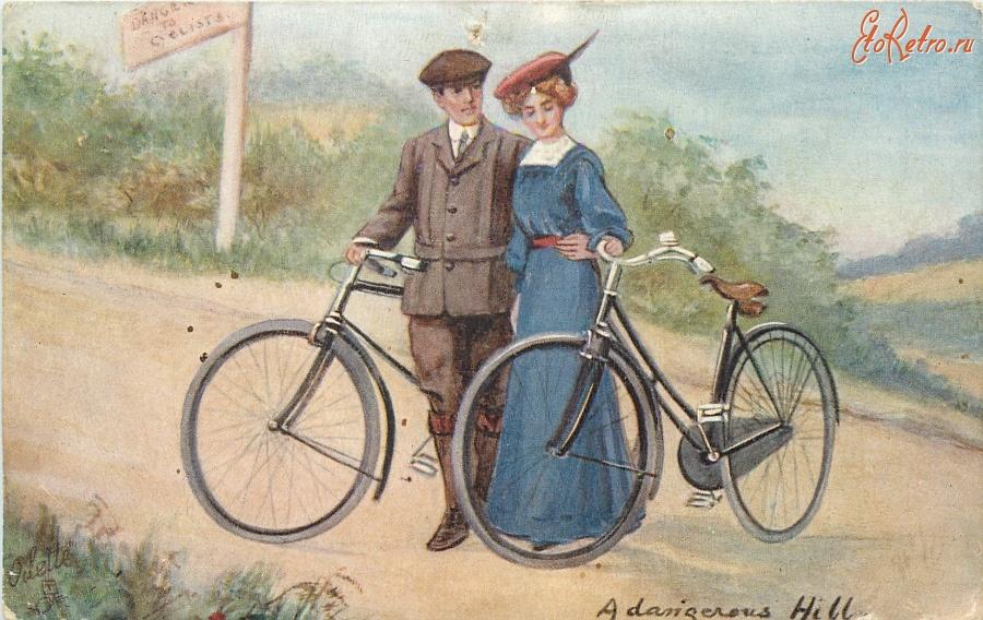 Рабочий стол, открытка 1895 года