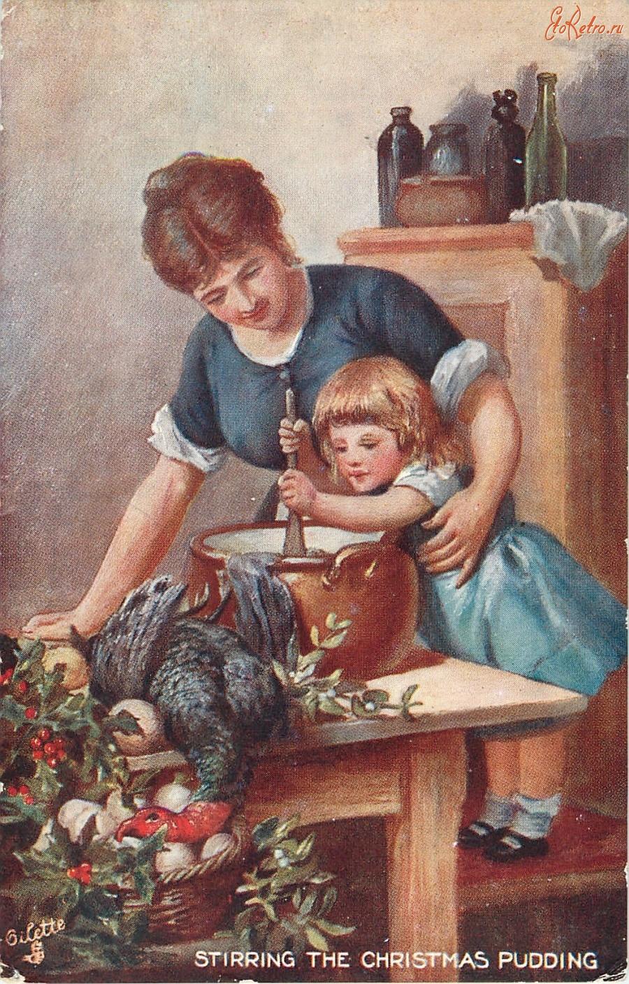 Открытки мамина помощница