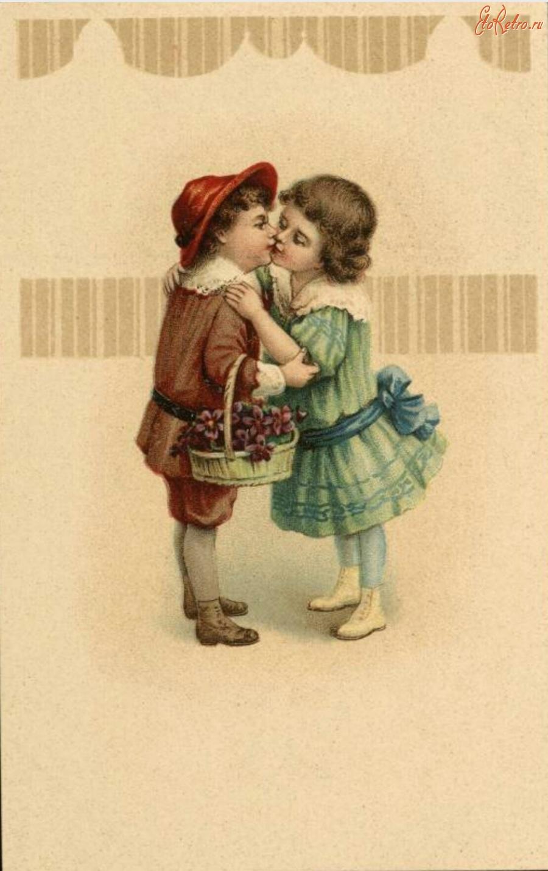 Пуделями, открытки ретро продам