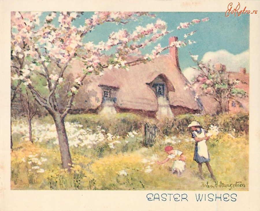 деревня ретро картинки вишня
