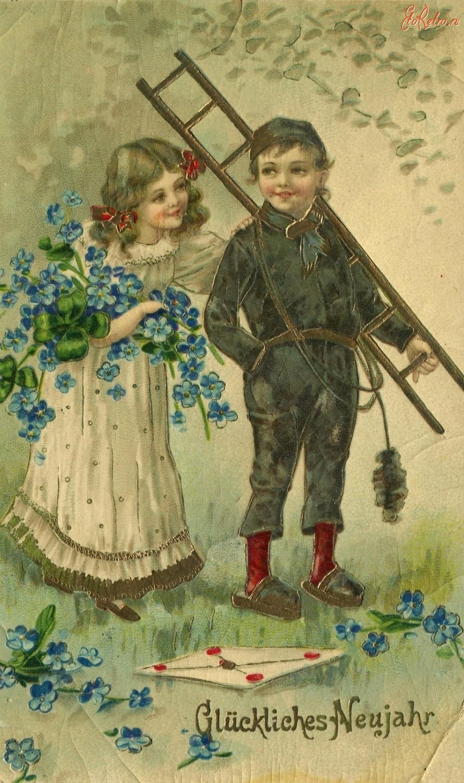 Пасхой, все авторы старинных открыток
