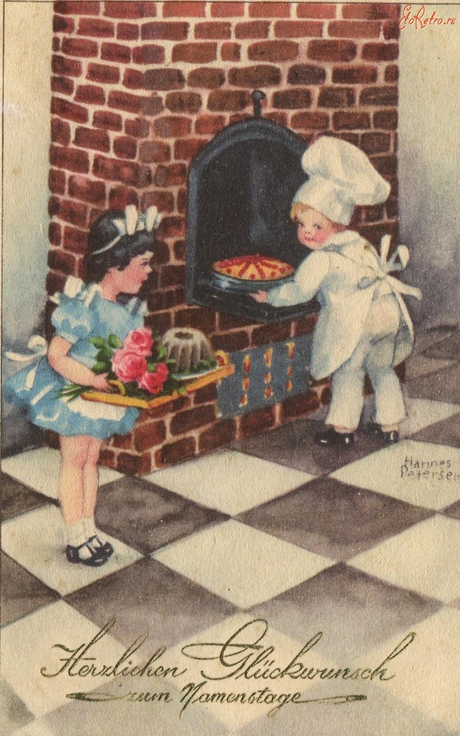 Про, с 8 марта немецкие открытки