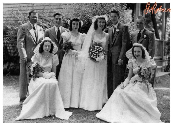 Ретро свадьба ретро свадьба 1946 год