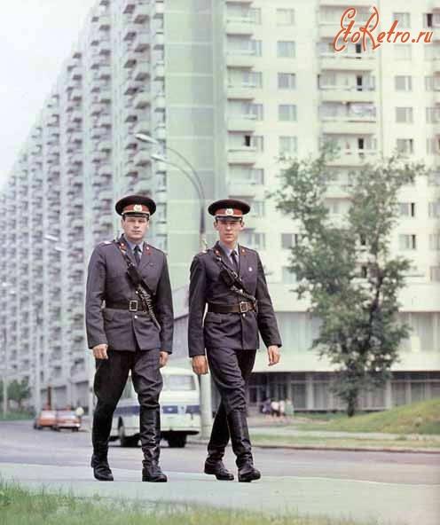 фото милиционеров ссср