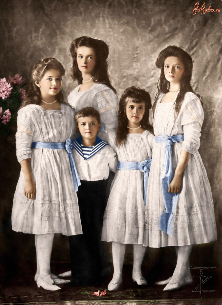 Фото детей николая ii