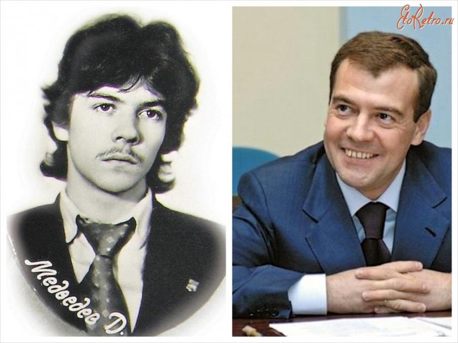 медведев дмитрий 1986 год фото