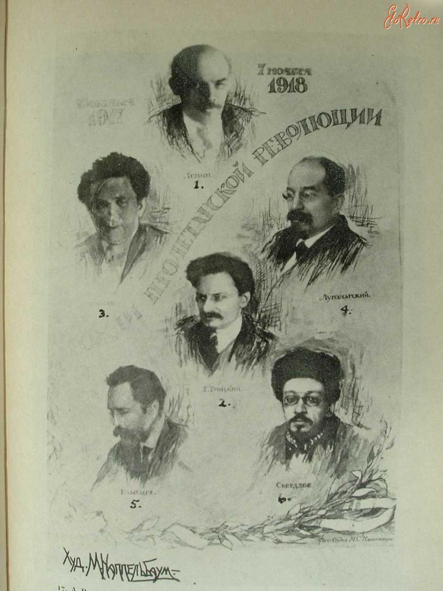 Ретро знаменитости - Вожди пролетарской революции